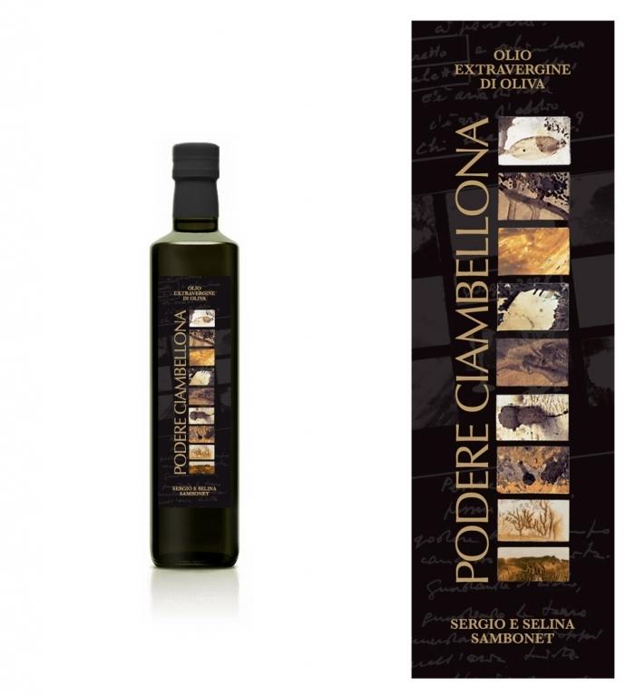 Amato PODERE CIAMBELLONA - Design etichette olio e vino - Comunica i sapori UG44